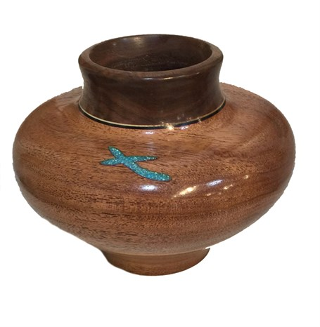 Wood - Mesquite Vessel 2309