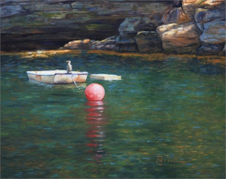 "Abbie Williams | Small Cove, Maine | Oil | 24"" X 30"" 