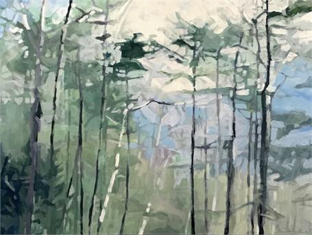 Through the Trees II