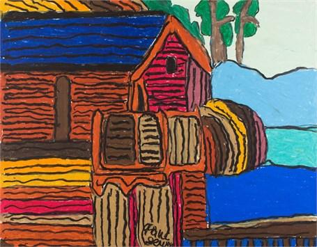 Cabin (FRAMED)
