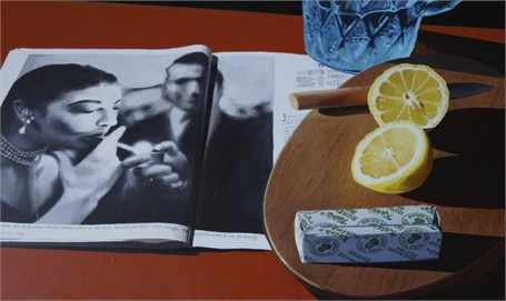 Cut Lemon, Butter and Ava