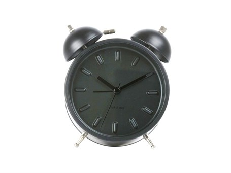 Clock - Table Top Black Twin Bell Alarm