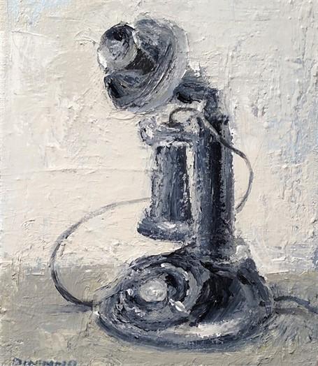 Still Life (Candlestick Phone)