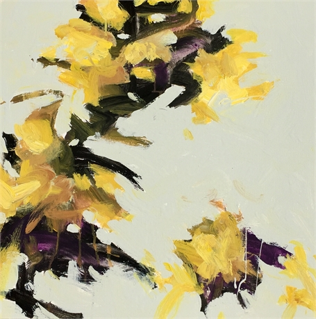 Wind Blown- Yellow II