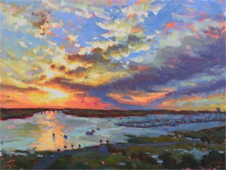 Ashley River Skies