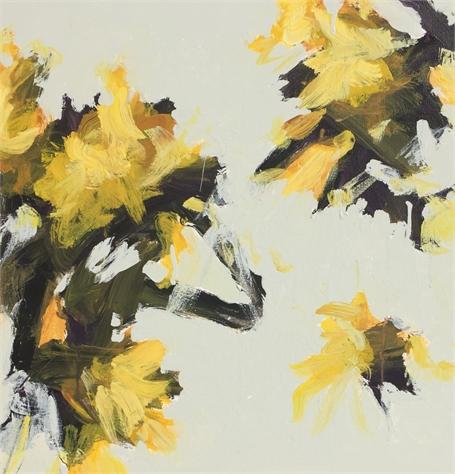 Wind Blown - Yellow III