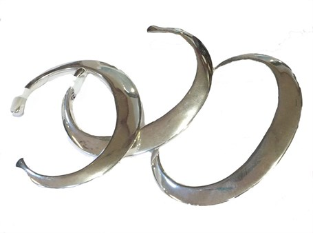 Bracelet - Sterling Silver Blade B-001