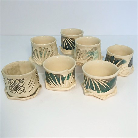 "Brendan Roddy | Coastal Cups - Light Body | Ceramic | 2.75"" X 4"" 