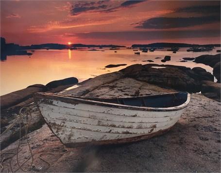 Dorey at Sunrise, Stonington, Maine