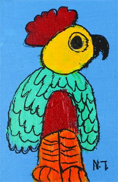 Philadelphia Parrot (FRAMED)