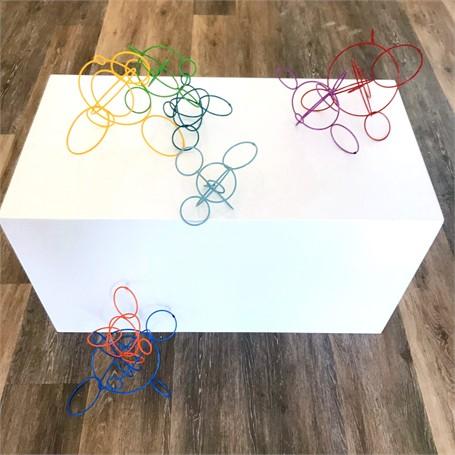 Medium Cicles Sculpture