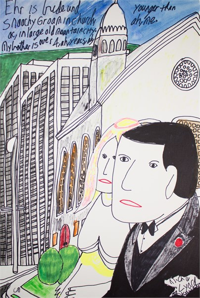 Couple in Large City