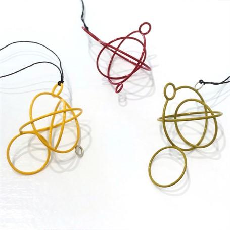 Small Circle Pendants