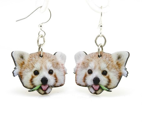 Earrings - Red Panda 1483