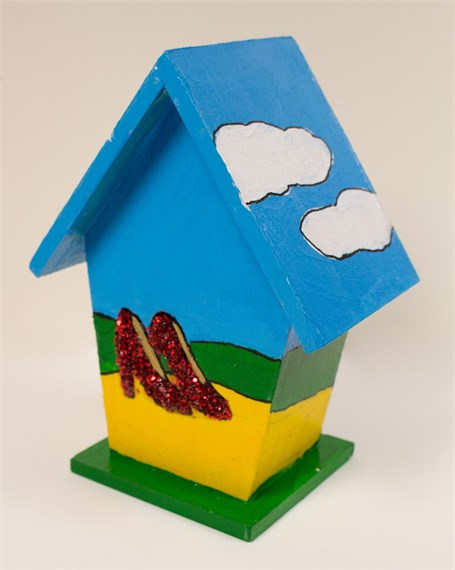 Yellow Brick Road (ornament/birdhouse)