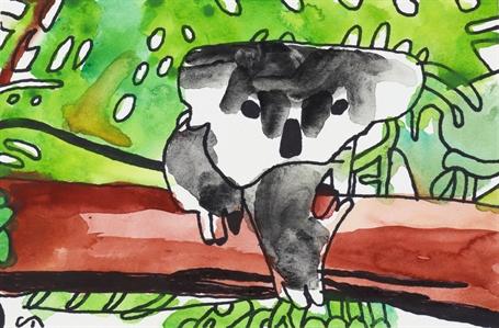 Koala Bear, 2020 (FRAMED)