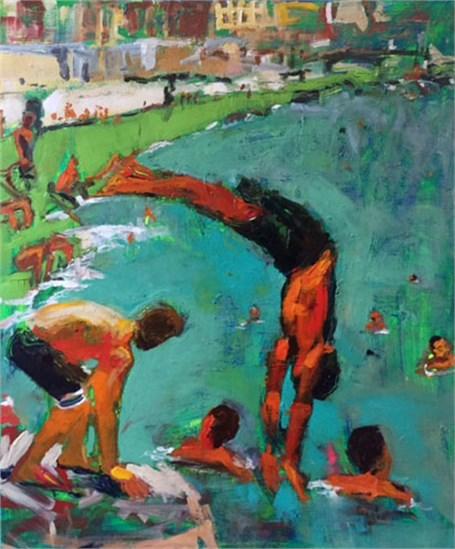 La Vida Cuba Nadando en el Malecon 5