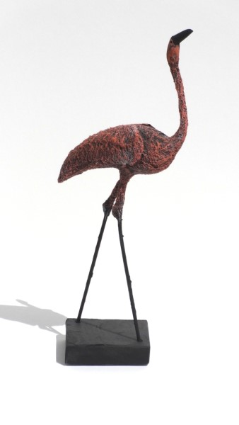 "James Rivington Pyne | Flamingo | Composite | 12"" X 6"" 