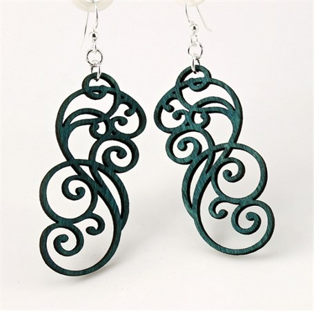 Earrings - Filigree Scroll 1074