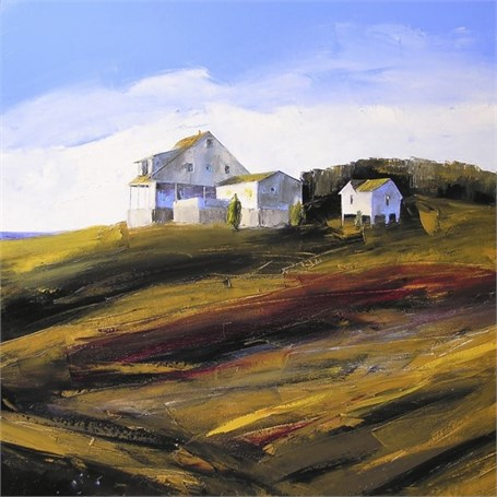"Janis H. Sanders | Jamie's Place | Oil on Canvas | 30"" X 30"" 