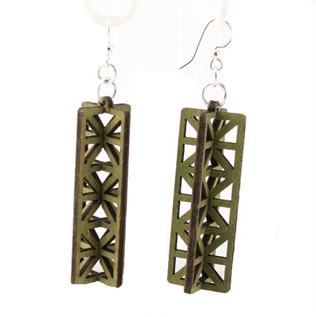Earrings - 3D Structure Earrings  1433