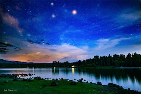 Horseshoe-Cieneca Lake Arizona - Nightfall - Drop Shipping Available