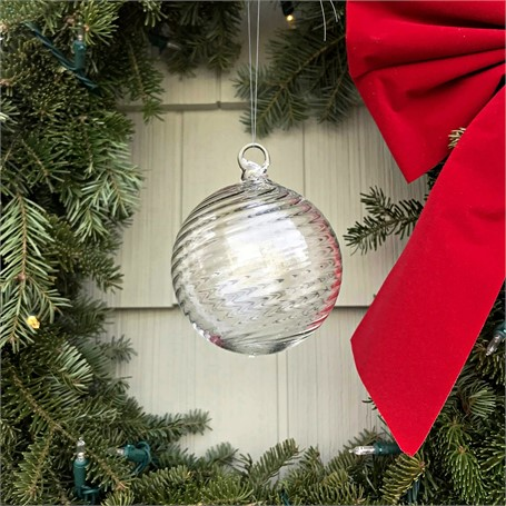Glass Orb Ornament