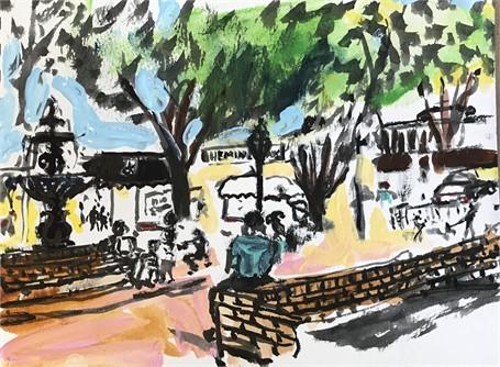 Glover Park Sketch 3