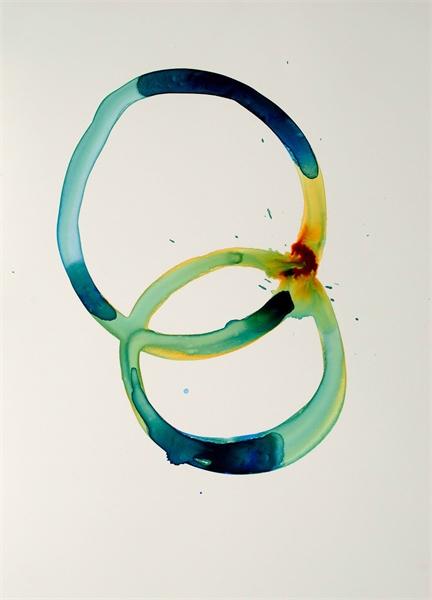 Jewel Tones Circles II