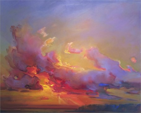 "Holly Ready | Sailor's Delight | Oil on Canvas | 24"" X 30"" 