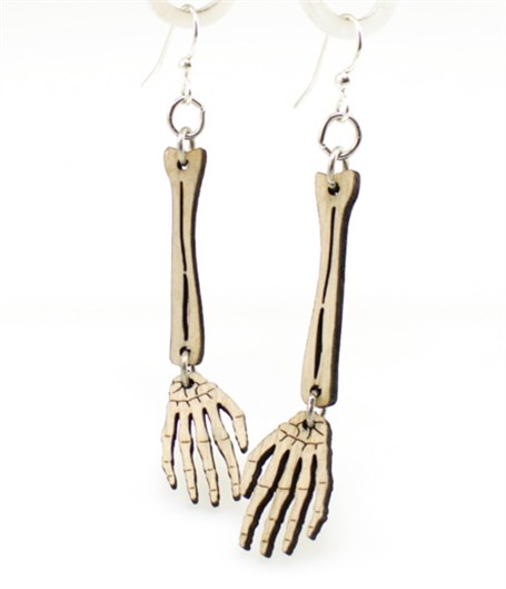 Earrings - Skeleton Hand 1244