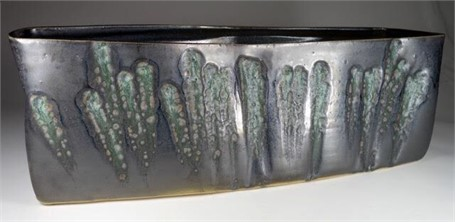"Kevin Keiser | Rushes | Ceramic | 8"" X 23"" 