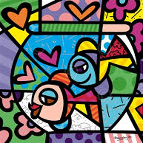 Britto in Key West at Key West Gallery