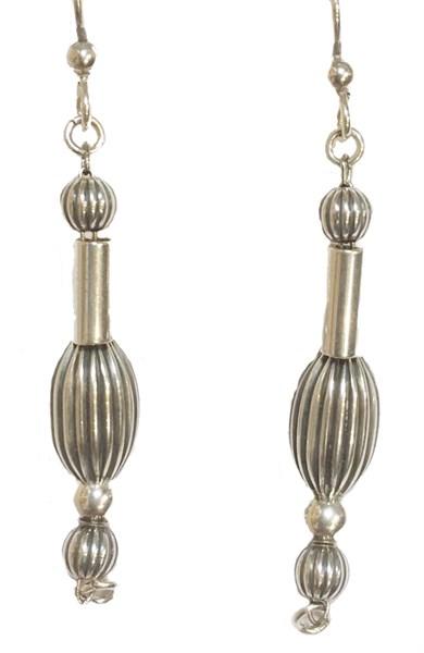 Earrings - Sterling Silver CB Dangles  E-908