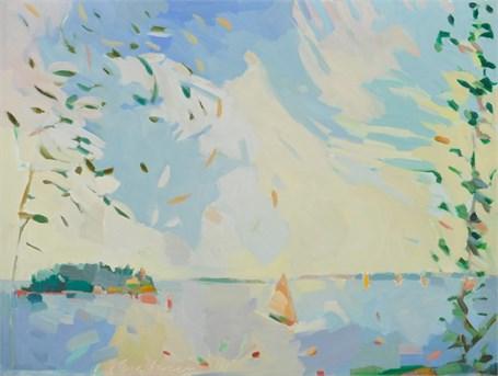 "Henry Isaacs | Bear Island | Oil on Canvas | 30"" X 40"" | Sold"
