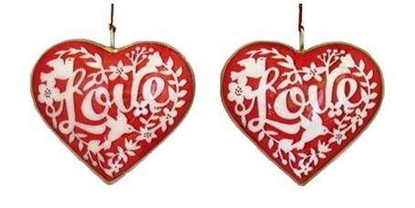 Ornament - Love Heart 4