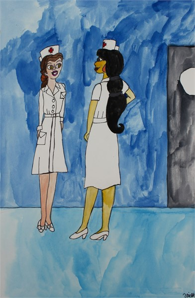 Nurse Belle and Nurse Jasmine