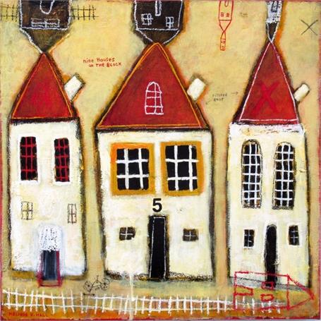 Nine Houses on the Block