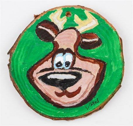 Reindeer/Elf (ornament)