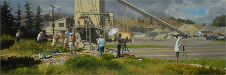 "William B. Hoyt | Plein Aire | Oil | 14"" X 42"" 