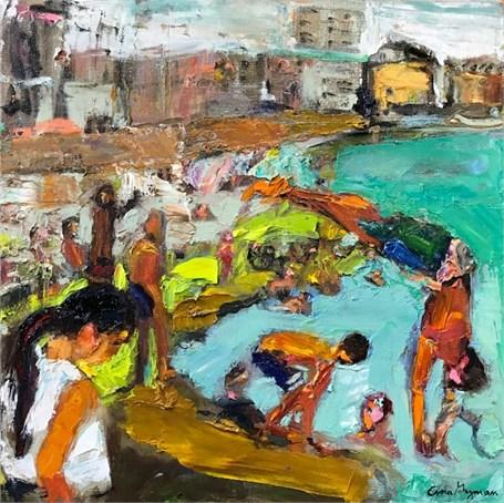 La Vida Cuba- Nadando en Malecon 7