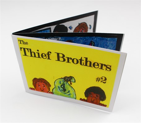 The Thief Brothers #2: A Mini-Book (In Color)