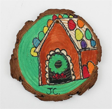 Gingerbread House/Gingerbread Cookie (ornament)