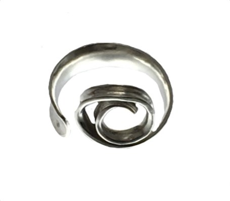 Ring - Anticlastic Silver