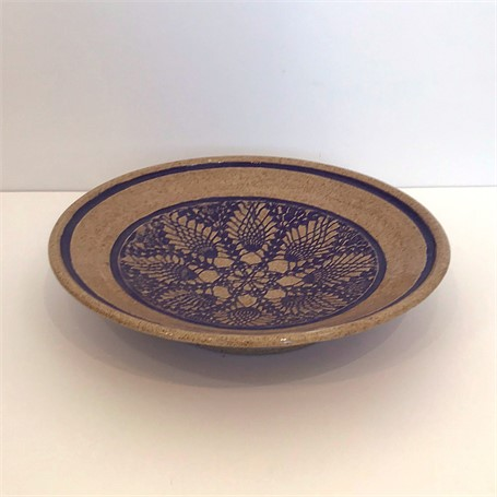 "Richard Winslow | Large Shallow Dish | Ceramic | 2.5"" X 10"" 
