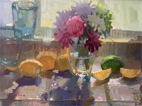 Kitchen Window, Lemons
