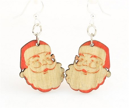 Earrings - Santa Claus 1496