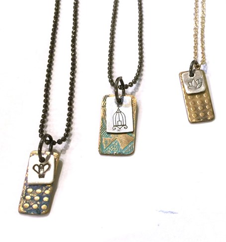 Necklace - Assorted Charms - 6a