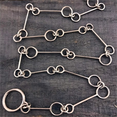 Sterling Silver Necklace: Large Link Chain
