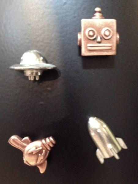 Sci Fi Magnet Set  911